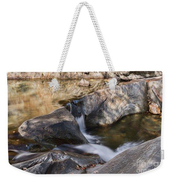 Warren Falls Weekender Tote Bag