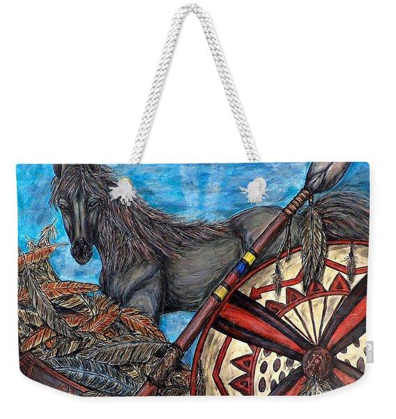 Warrior Spirit Weekender Tote Bag