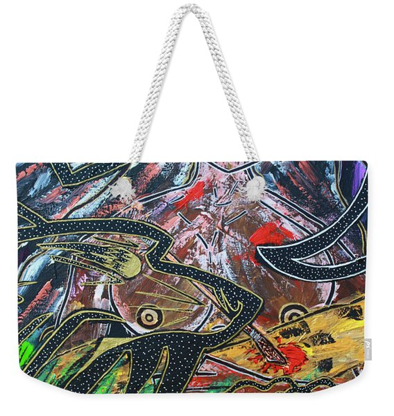 Warrior Spirit Woman Weekender Tote Bag