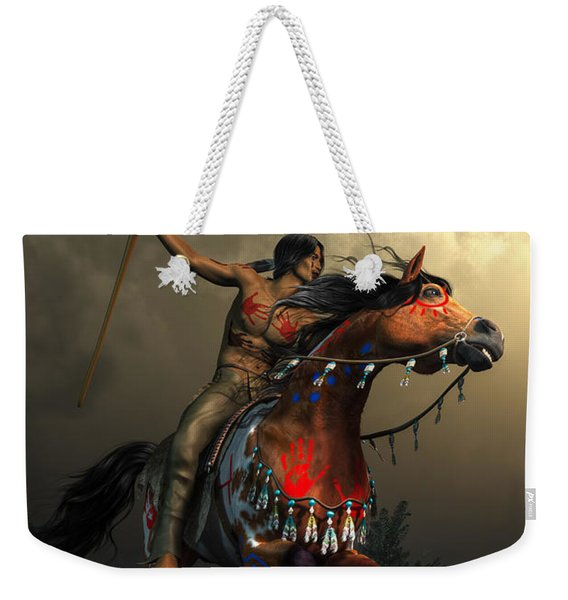 Warriors Of The Plains Weekender Tote Bag