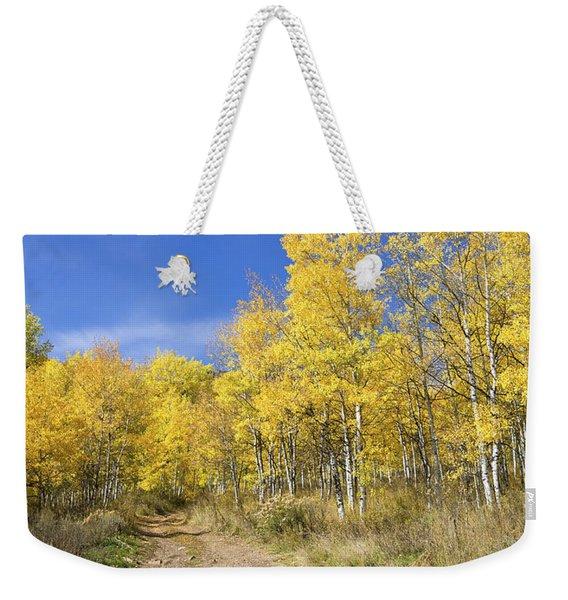 Wasatch Fall Weekender Tote Bag