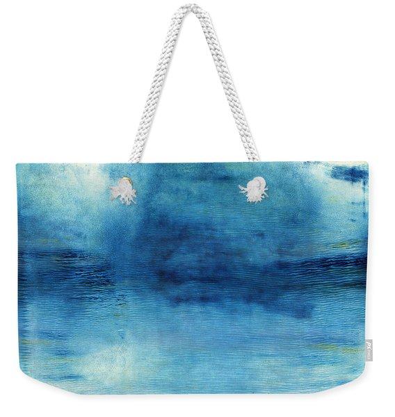 Wash Away- Abstract Art By Linda Woods Weekender Tote Bag