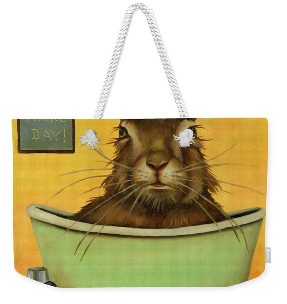 Wash Your Hare Weekender Tote Bag