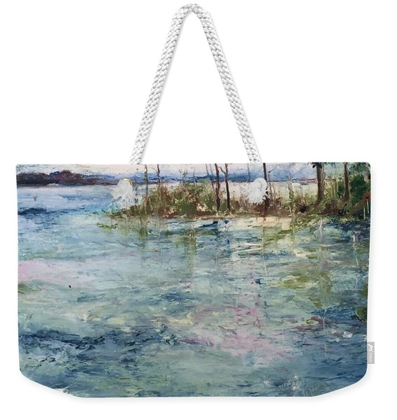 Washed By The Waters Series Weekender Tote Bag