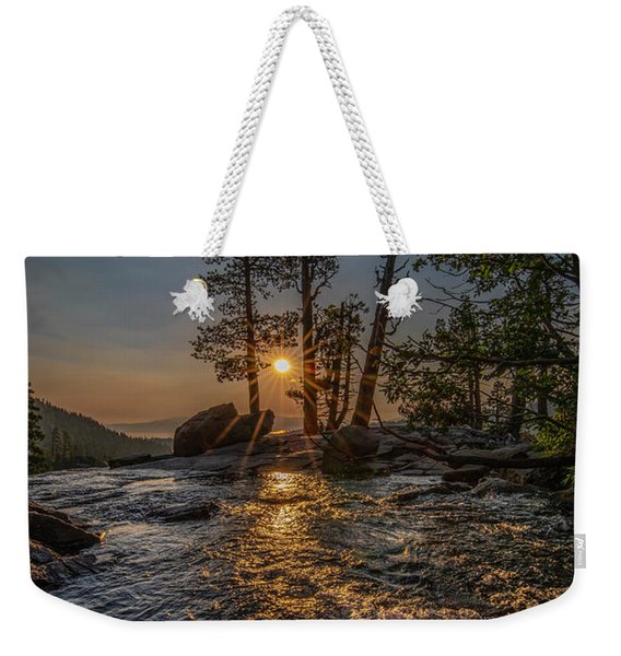 Washed With Golden Rays Weekender Tote Bag