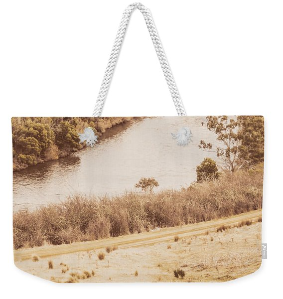 Washes Of Rustic Country Weekender Tote Bag