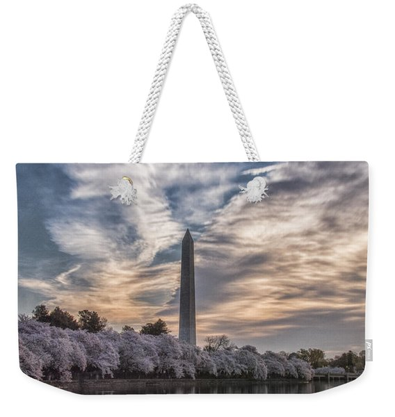 Washington Blossom Sunrise Weekender Tote Bag