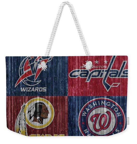 Washington Dc Sports Teams Weekender Tote Bag