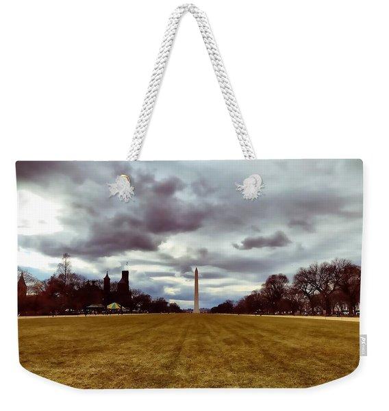 Washington Monument Weekender Tote Bag