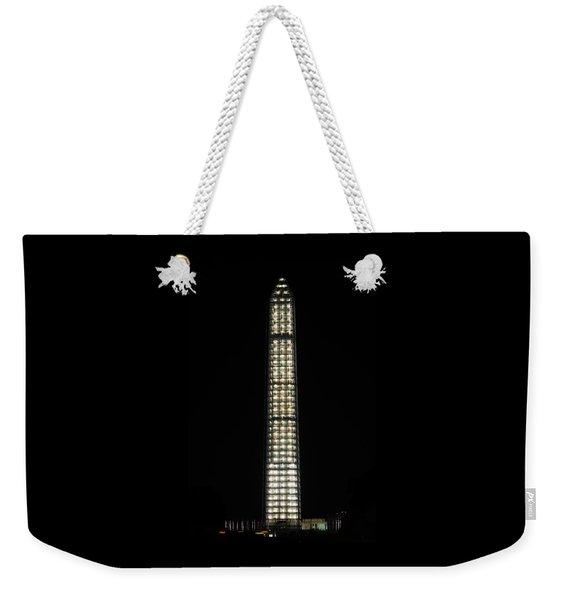 Washington Monument In Repair Weekender Tote Bag