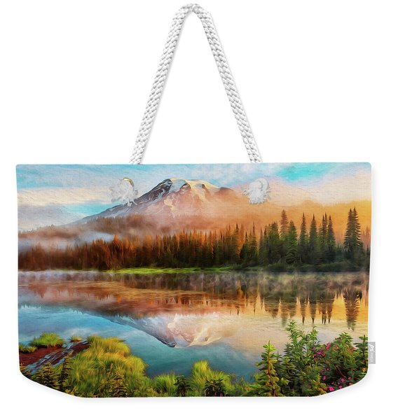 Washington, Mt Rainier National Park - 04 Weekender Tote Bag