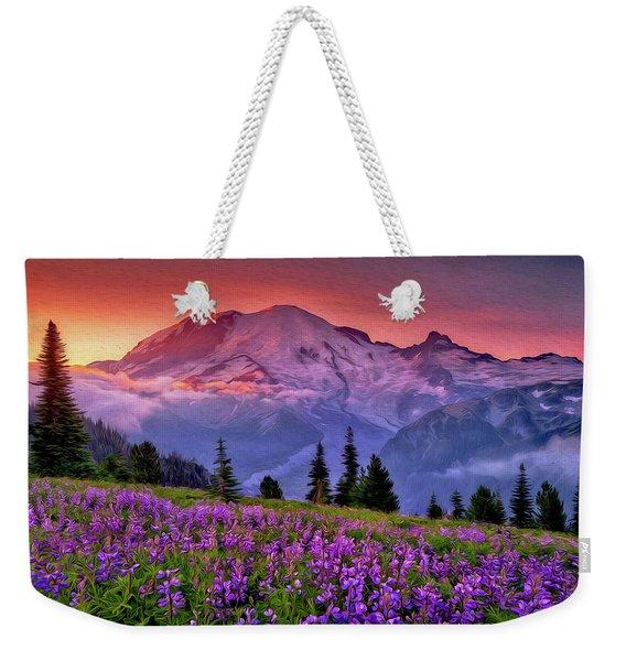 Washington, Mt Rainier National Park - 05 Weekender Tote Bag
