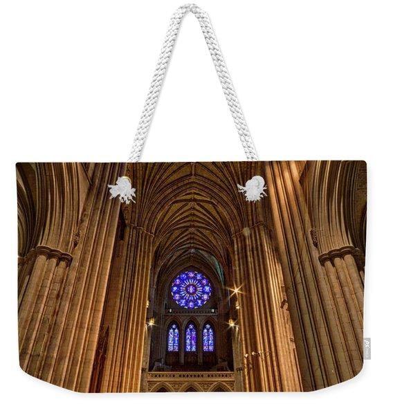 Washington National Cathedral Crossing Weekender Tote Bag