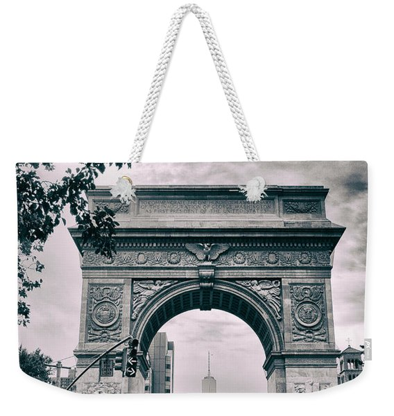 Washington Square Arch Weekender Tote Bag