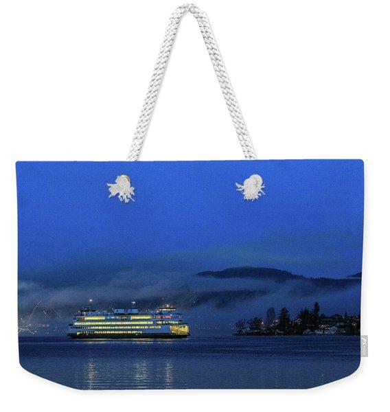 Washington State Ferry Hyak Weekender Tote Bag