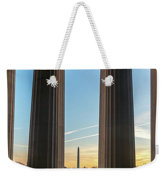 Washington Through Lincoln Weekender Tote Bag