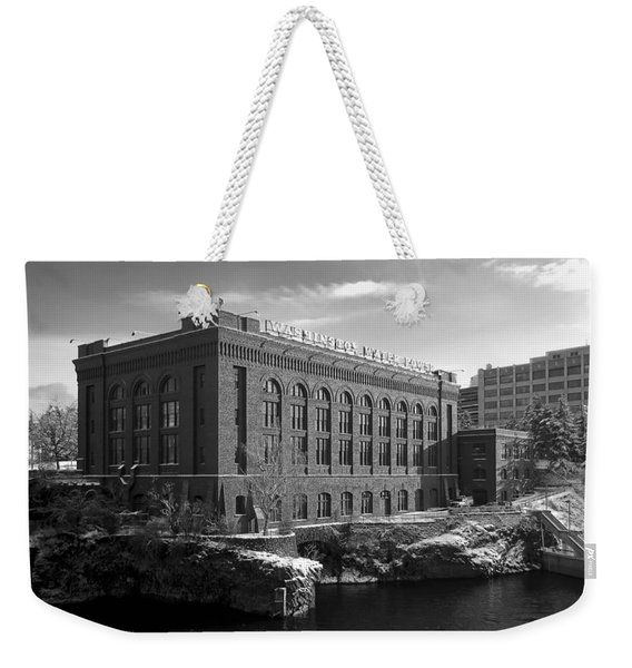 Washington Water Power Post Street Station - Spokane Washington Weekender Tote Bag