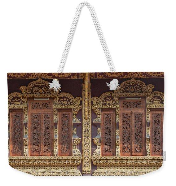 Wat Chiang Chom Phra Wihan Windows Dthcm0890 Weekender Tote Bag