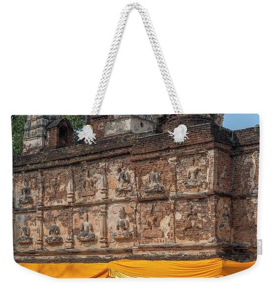 Wat Jed Yod Frieze Of Angels Or Deities On Maha Vihara Jedyod Dthcm0903 Weekender Tote Bag