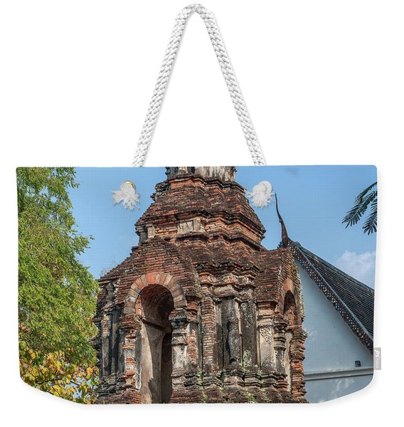 Wat Jed Yod Phra Chedi Containing Image Of Buddha Dthcm0911 Weekender Tote Bag