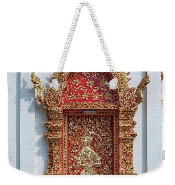 Wat Jed Yod Phra Wihan Rear Door Dthcm0916 Weekender Tote Bag