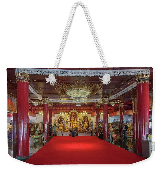 Wat Pa Dara Phirom Phra Chulamani Si Borommathat Interior Dthcm1607 Weekender Tote Bag