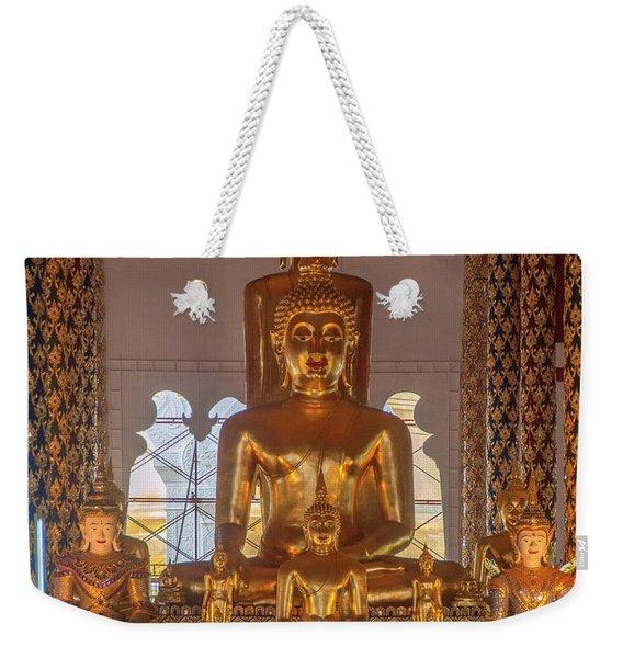Wat Suan Dok Wihan Luang Buddha Images Dthcm0952 Weekender Tote Bag