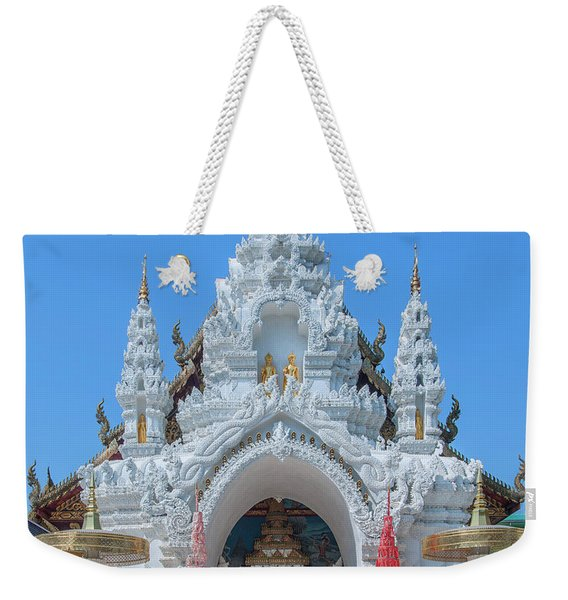 Wat Sun Pa Yang Luang Wihan Luang Gate Dthlu0315 Weekender Tote Bag