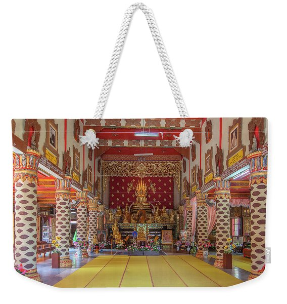 Wat Thung Luang Phra Wihan Interior Dthcm2104 Weekender Tote Bag