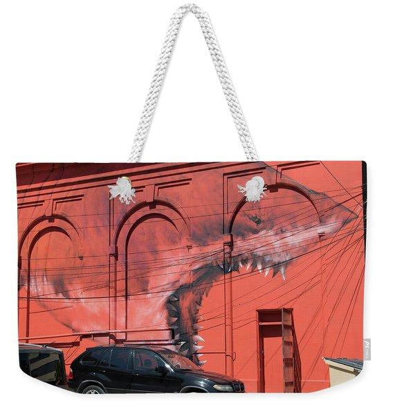 Watch Out Weekender Tote Bag