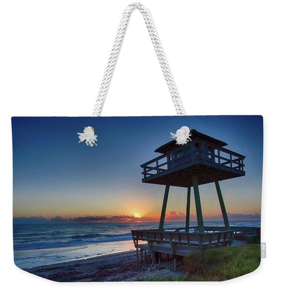 Watch Tower Sunrise 2 Weekender Tote Bag