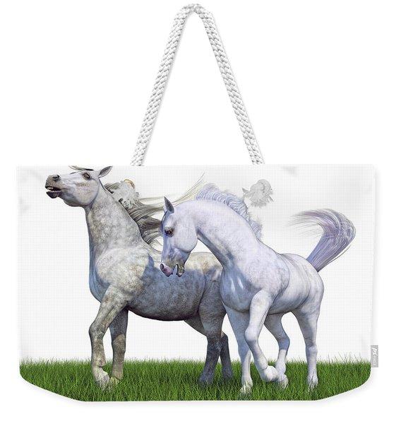 Watch Your Back Weekender Tote Bag