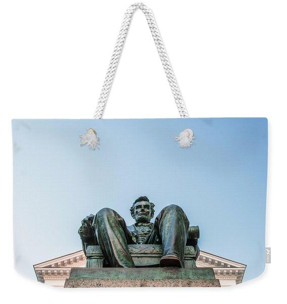Watchful Abe Weekender Tote Bag