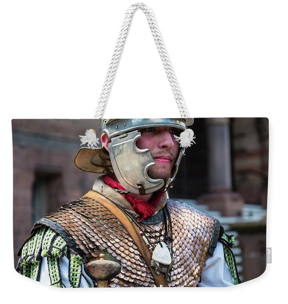 Watching The Borders Of The Empire Weekender Tote Bag