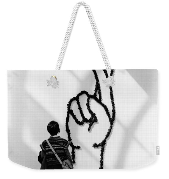 Watching Figers Crossed  Weekender Tote Bag