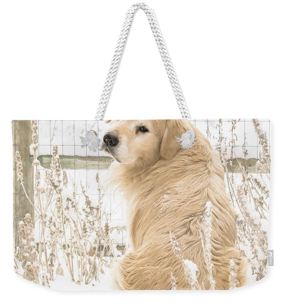 Watching It Snow Weekender Tote Bag