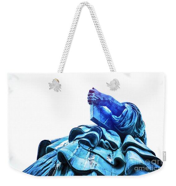 Watching Liberty Weekender Tote Bag