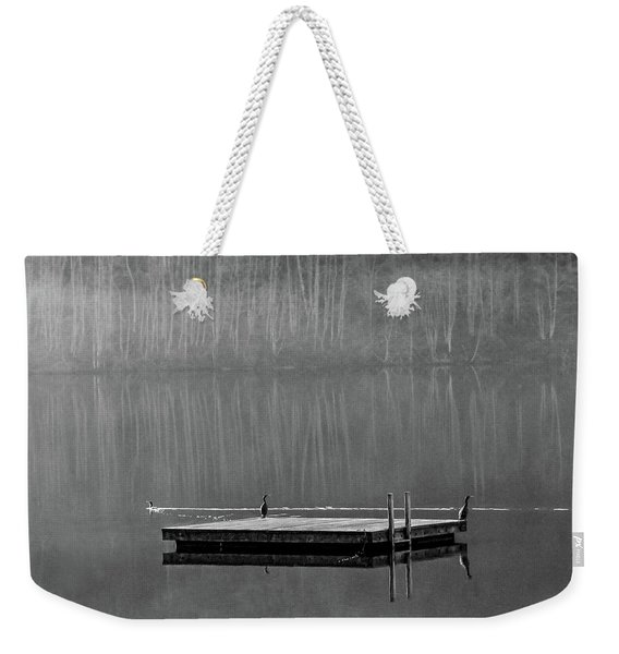 Watching The Chicks Go By Weekender Tote Bag