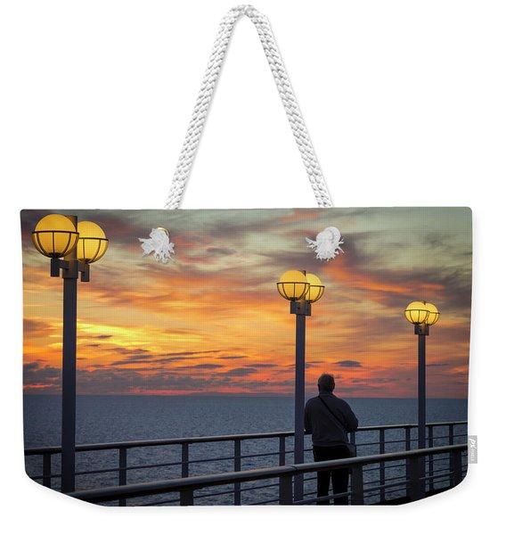 Watching The Sun Go Down Weekender Tote Bag