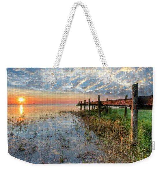 Watching The Sun Rise Weekender Tote Bag