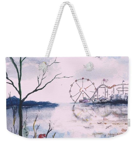 Watching The World Go Round Weekender Tote Bag