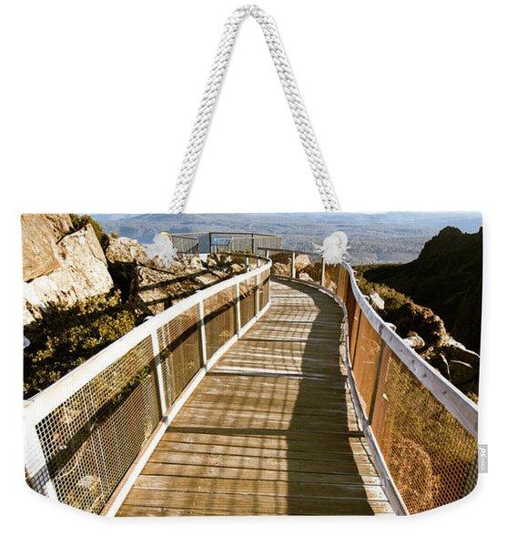Watchtower Lookout, Ben Lomond, Tasmania Weekender Tote Bag