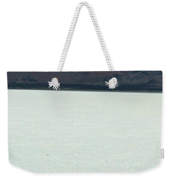 Water Above Salt Below Weekender Tote Bag