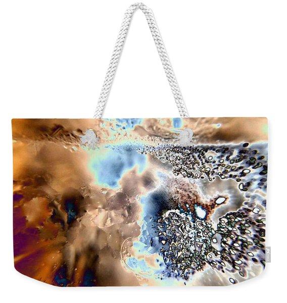 Water Abstract 9 Weekender Tote Bag