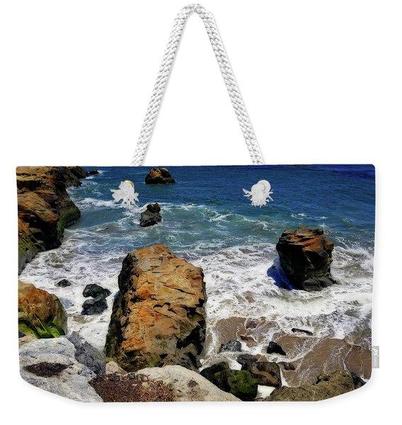 Water And Rocks Weekender Tote Bag