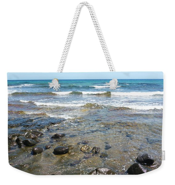 Water And Rocks Weekender Tote Bag