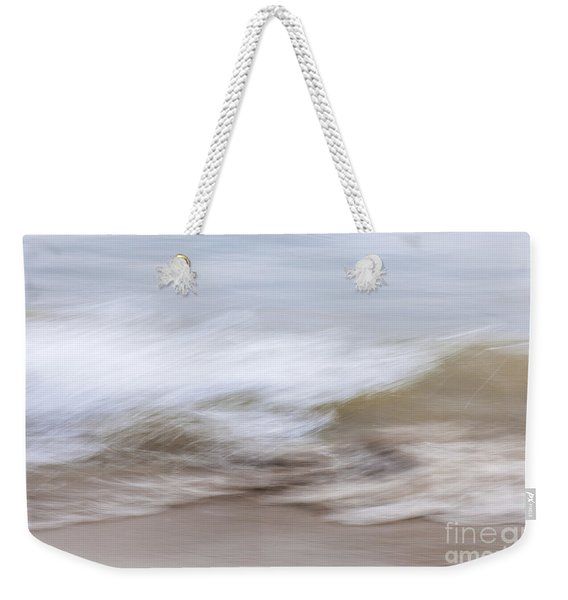 Water And Sand Abstract 2 Weekender Tote Bag
