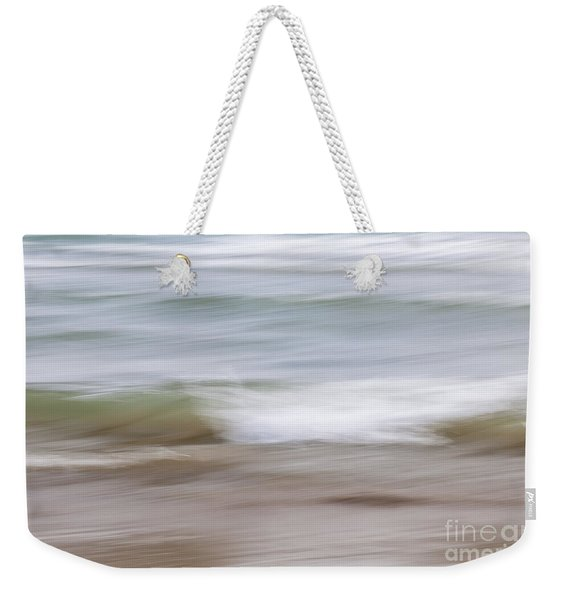 Water And Sand Abstract 4 Weekender Tote Bag