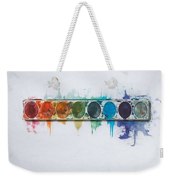 Water Colors Weekender Tote Bag