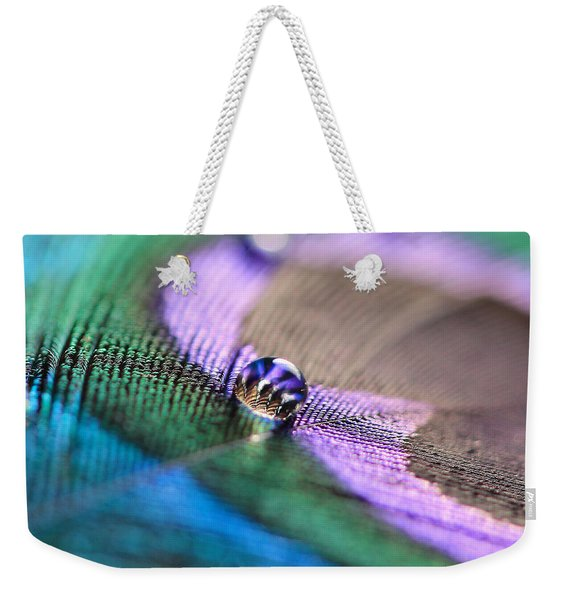 Water Drop Weekender Tote Bag